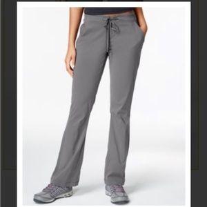 Columbia Gray Anytime Omni Shield Hiking Pants